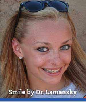 Lamansky Patient with Sunglasses at Associated Orthodontists in Wausau Marshfield WI