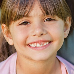 Young Girl Missing Tooth Photo at Associated Orthodontists in Wausau Marshfield WI