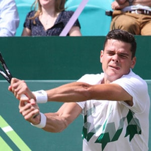 Milos Raonic Photo at Associated Orthodontists in Wausau Marshfield WI
